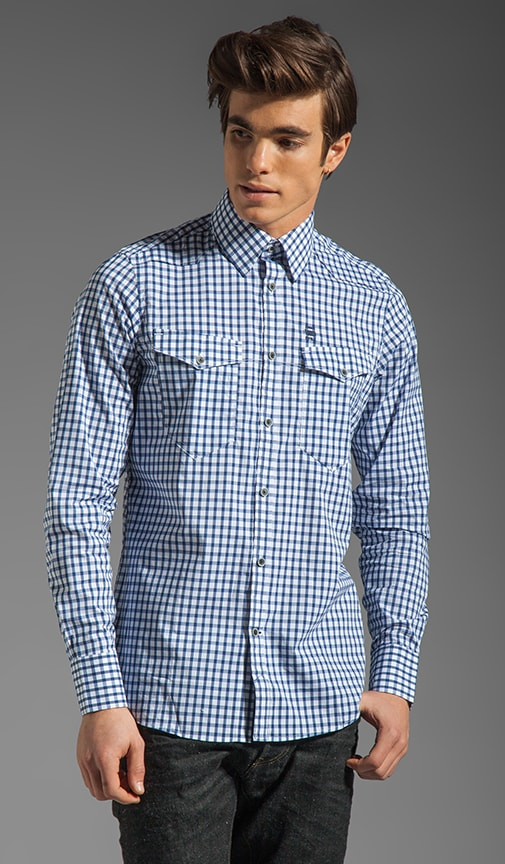 New Western Check Shirt