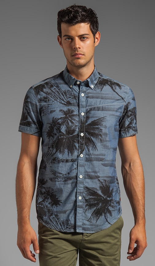 Swell Palm Short Sleeve Shirt