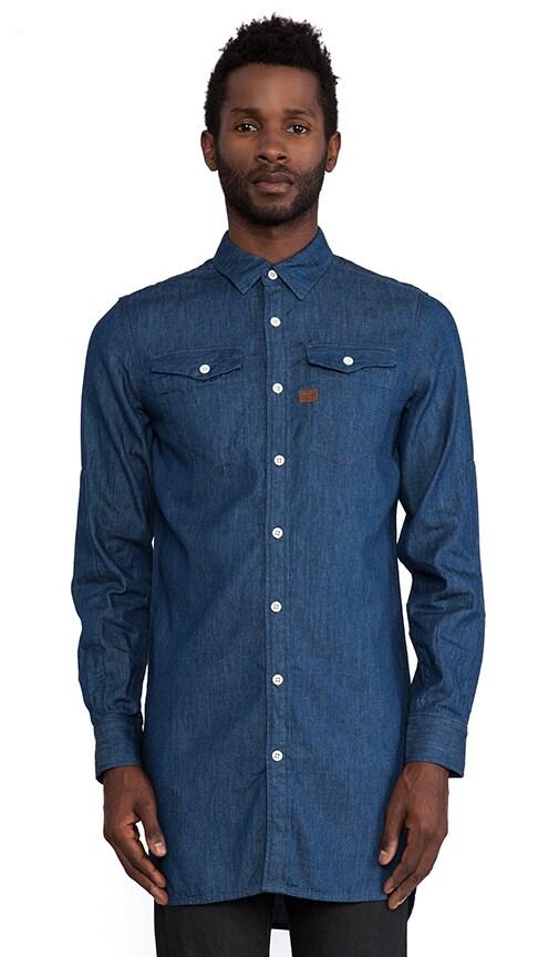 Tacoma XL Long Recruit Denim Shirt