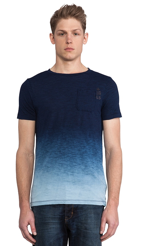 Galley Indigo Dipped T-Shirt