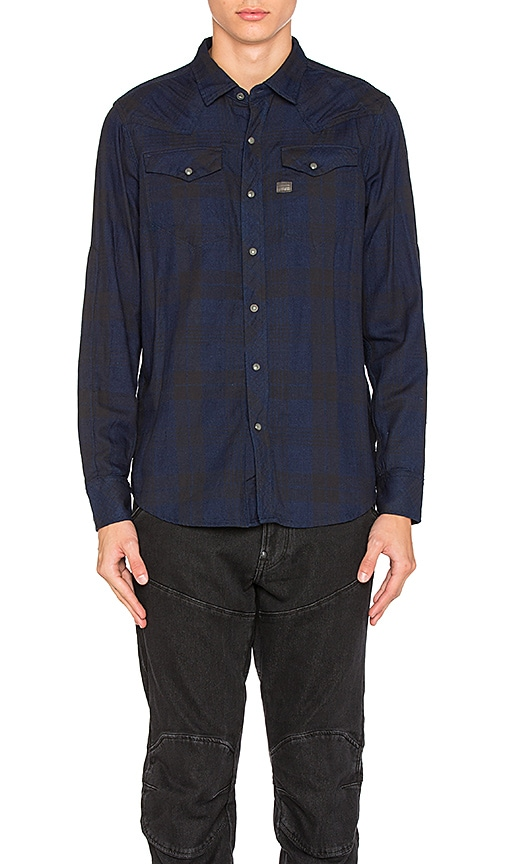 G-Star Tacoma Shirt in Blue