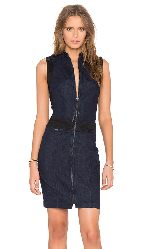 G-Star Lynn Slim Dress in Blue