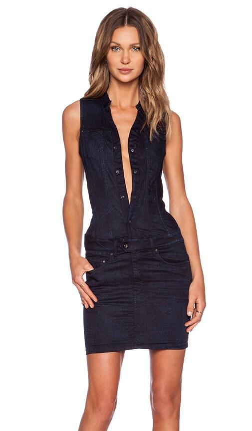 G-Star Midge Dumont Dress in Dark Aged