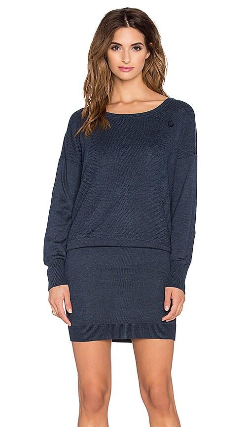 G-Star Becka Sweater Dress in Mazarine Blue Heather