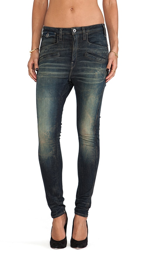 Davin 3D Tapered Jeans
