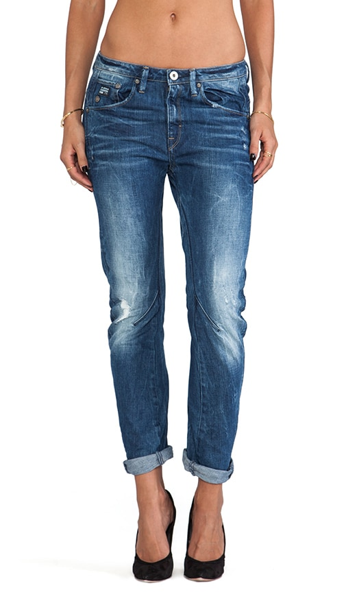 Arc 3D Tapered Jeans Watton Medium Aged