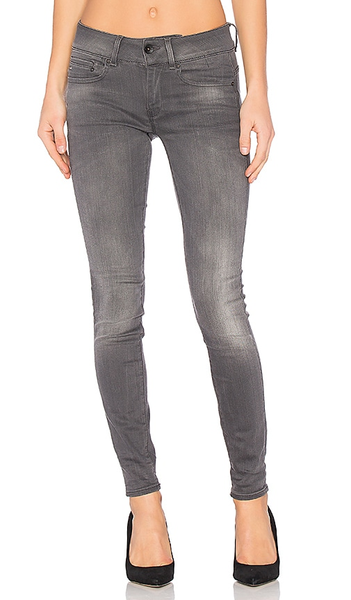 G-Star Midge Cody Skinny Jean in Medium Aged