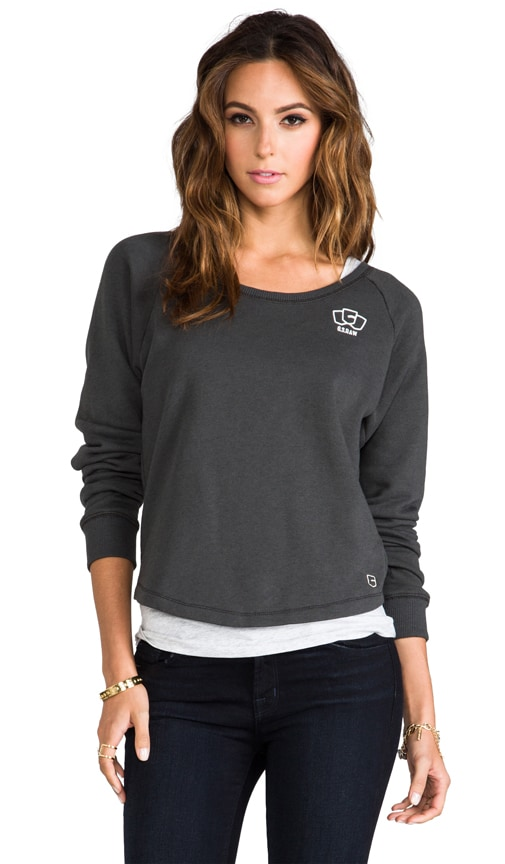 Roots Double R-Neck Sweatshirt