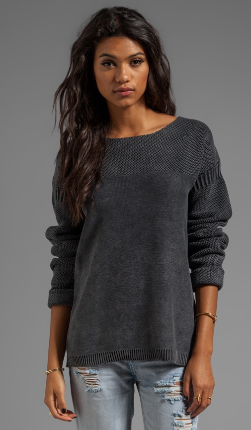 New Misa Boatneck Sweater