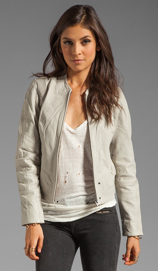 Olympia Leather Moto Jacket