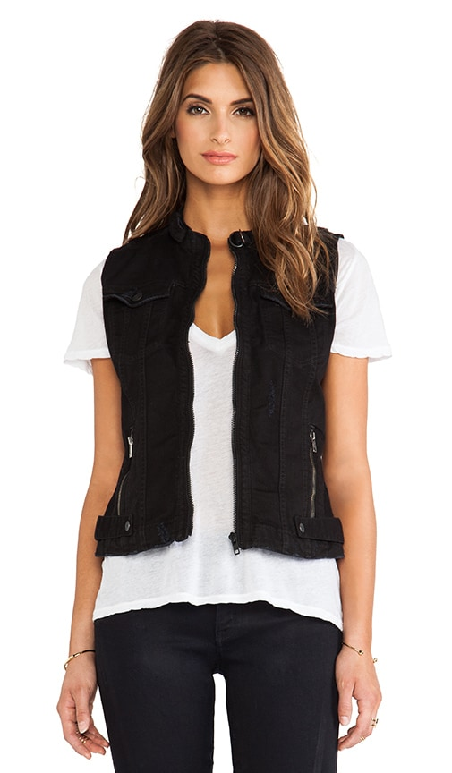 Tailor Chopper Sleeveless Vest