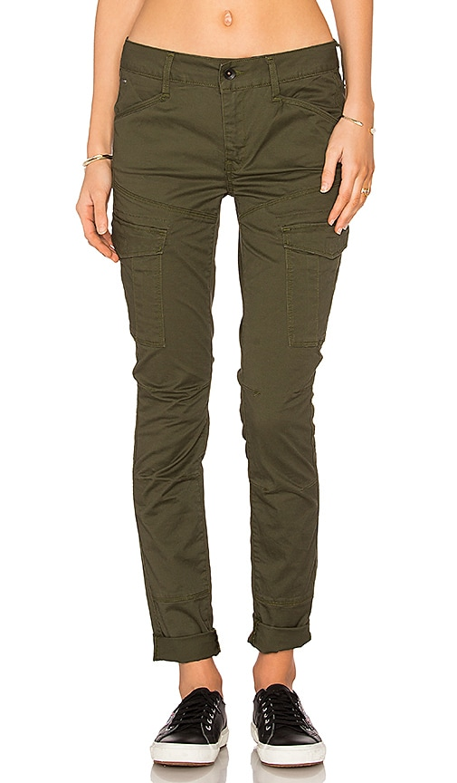 G-Star Rovic Skinny Pant in Army