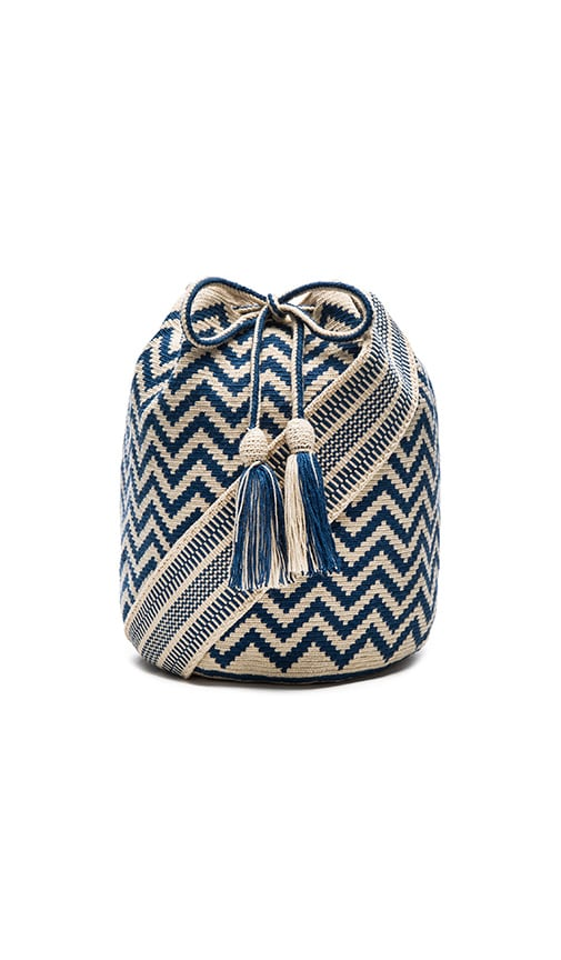 Large Chevron Bucket