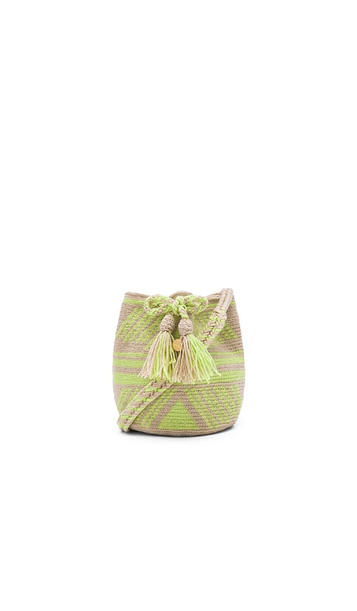 Guanabana XS Bucket Bag in Green
