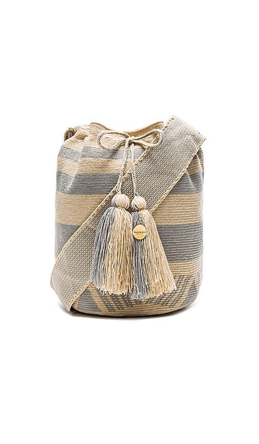 Guanabana Stripe Large Bucket Bag