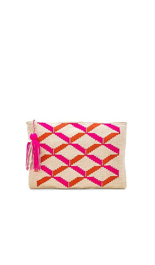 Guanabana Clutch in Pink
