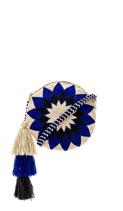 Guanabana Mola Bag in Blue