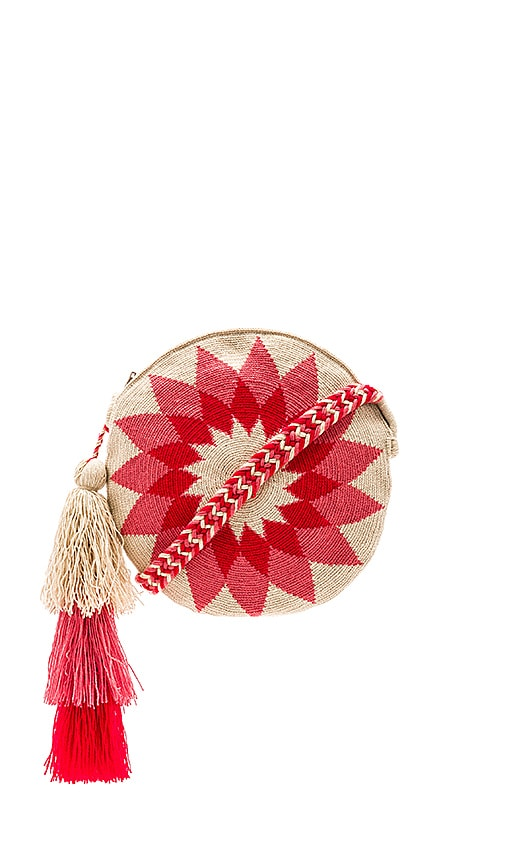 Guanabana Mola Bag in Red