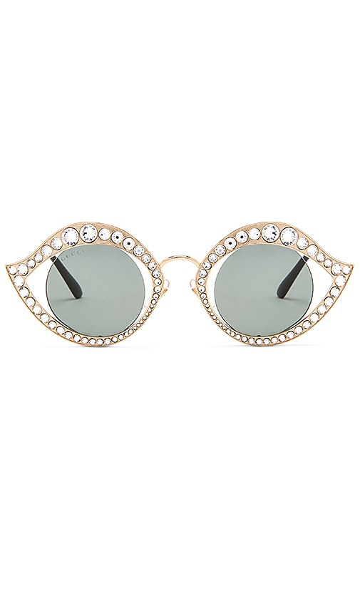 Cat Eye Crystal Metal