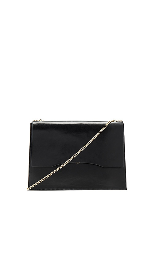 Gvyn Aden Shoulder Bag in Black