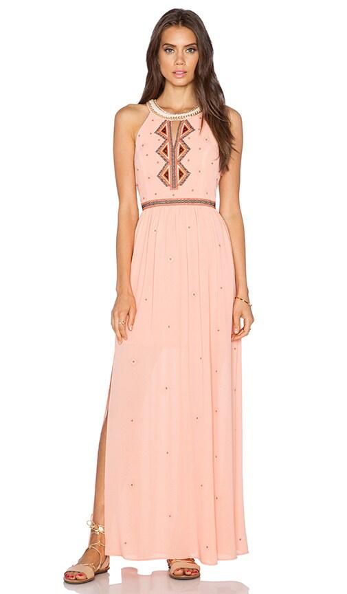 Greylin Gia Maxi Dress in Coral