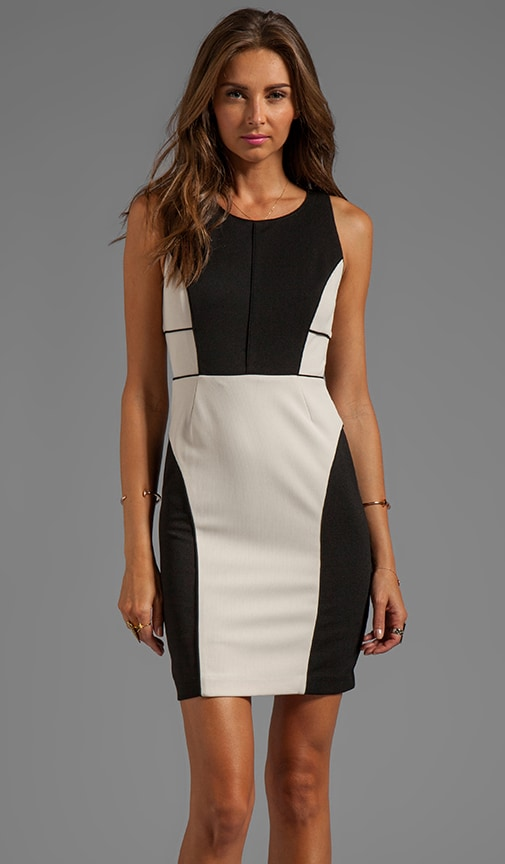 Angelina Color Blocked Dress