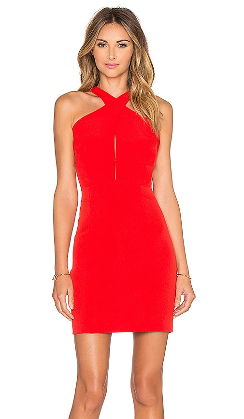 Greylin Rai Dress in Orange