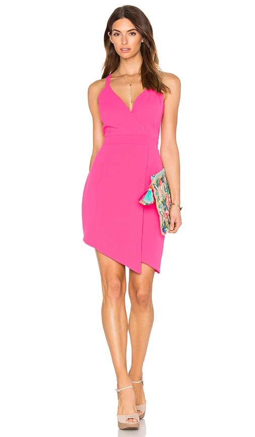 Greylin Villa Mar Dress in Fuchsia