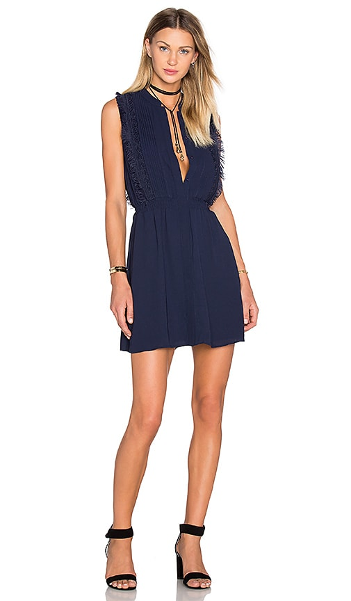 Liana Fringe Dress