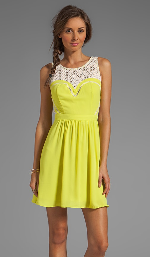 Avery Lace Cutout Dress