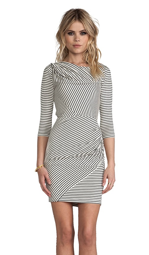 Calista Stripe Knit Dress