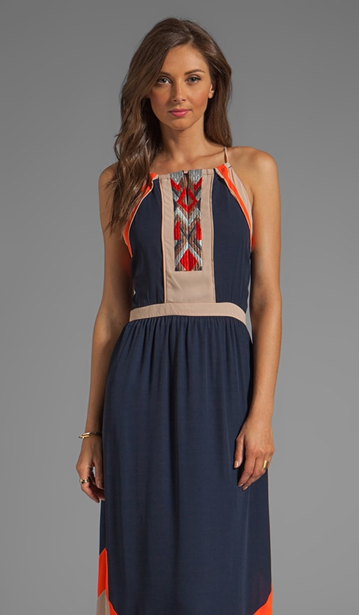 Amanda Embroidered Maxi Dress