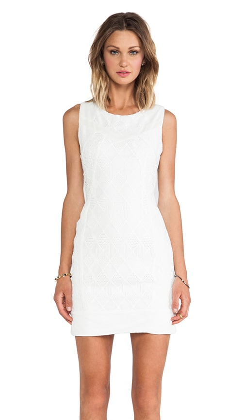 Dawson Lace Blocked Dress