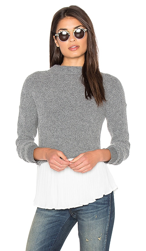 Greylin Joel Twofer Sweater in Gray