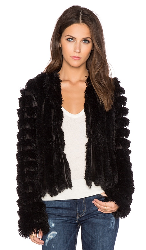 Natalia Faux Fur Jacket
