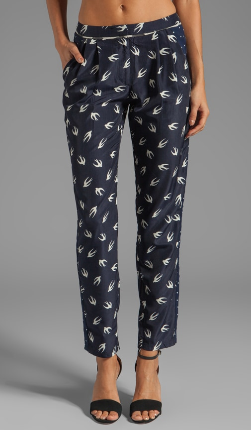 Jocelyn Mix Print Pant