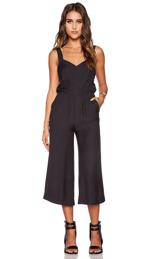 Cece Sweetheart Cullote Jumpsuit