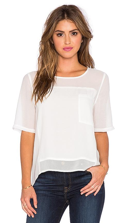 Greylin Vonnie Top in White
