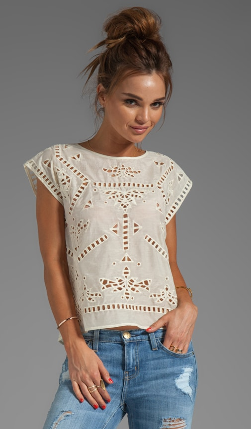 Bianca Embroidered Top