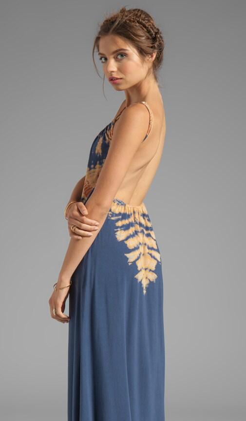 La Ba Dee Bamboo Knit Cami Scoop Back Maxi Dress