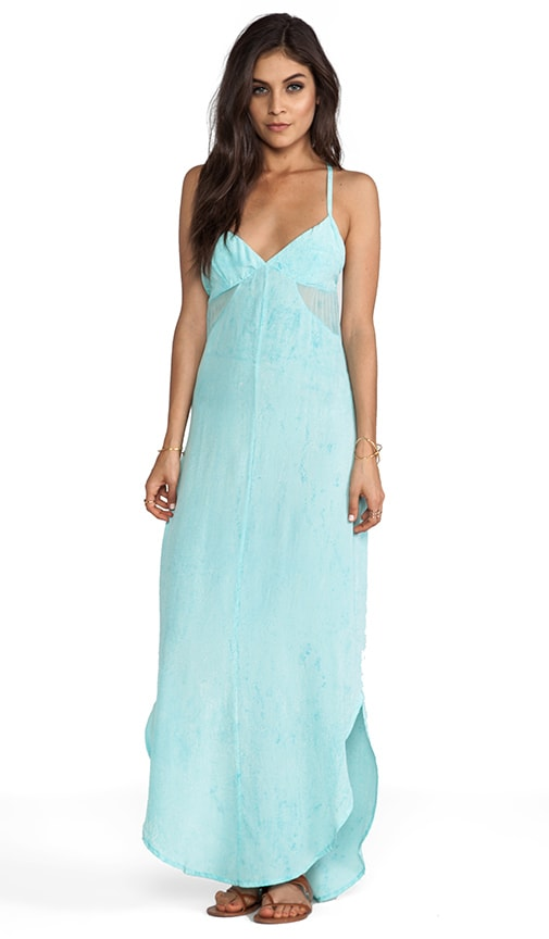 Soka Geo Cutout GGT V-Bottom Cami Maxi Dress