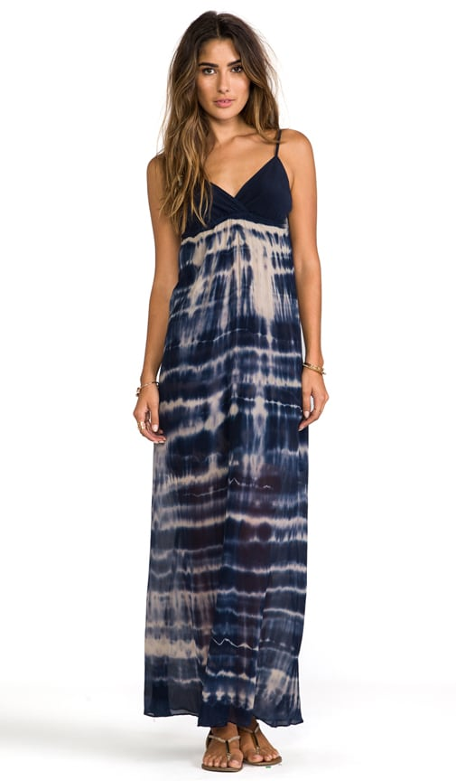 Silk Triangle Maxi