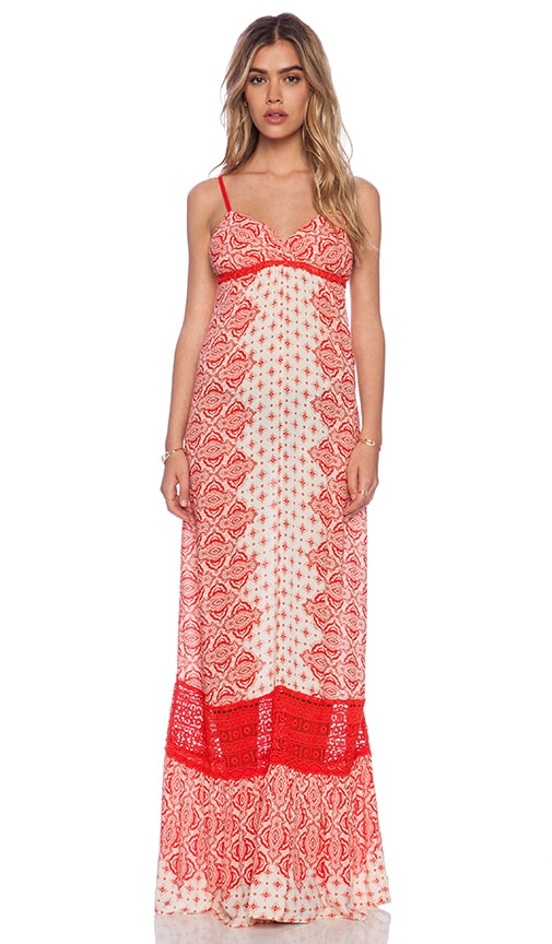 Casablanca X Back Maxi Dress