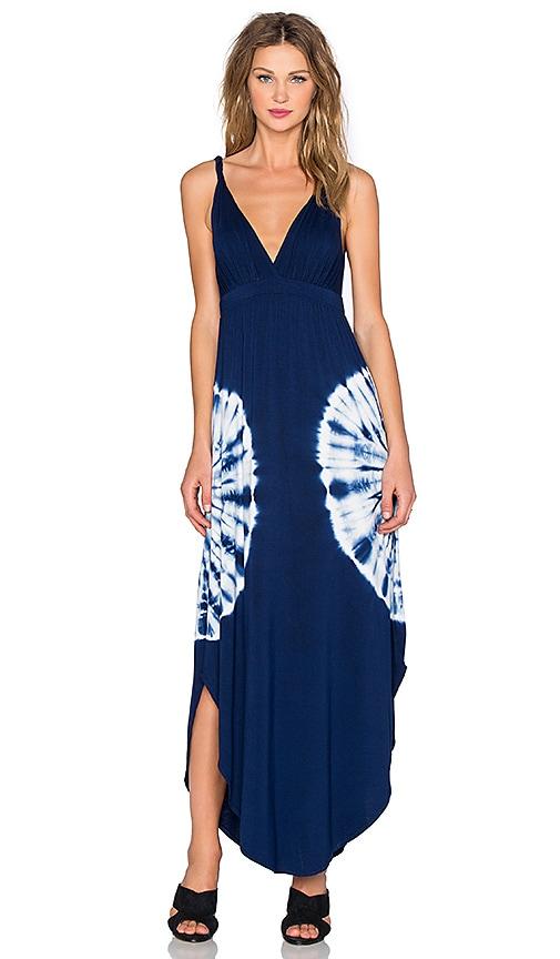 Gypsy 05 Bamboo Maxi Dress in Blue