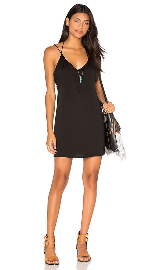 Halter Deep V Back Dress