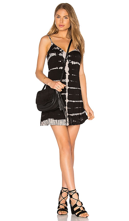 Gypsy 05 Deep V Back Cami Dress in Black