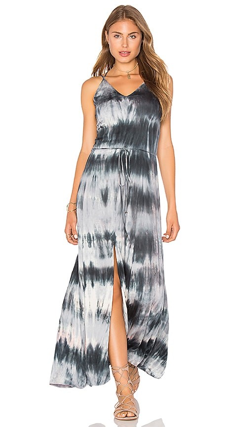 Gypsy 05 Multi Strap Maxi Dress in Blue