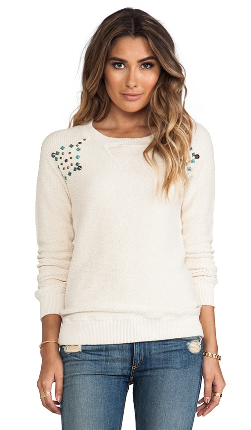 Foundation Chunky Loop Terry Tunic with Studs