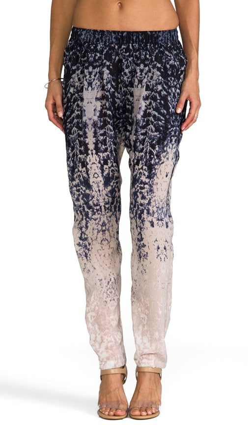 Printed Silk Perfect Pant