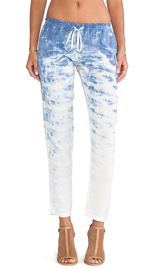 Varanasi Silk Tapered Drawstring Pants